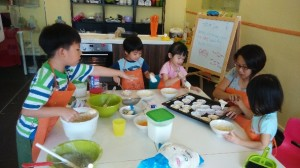 The Little Things, cookery class for kids
